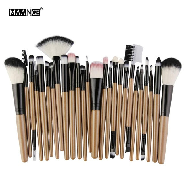 Premium 25pc Makeup Brush Set - Your Goods Central