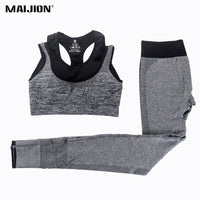 Yoga Active ware Sets/ Fitness Sport Bra+Yoga Pants Leggings Set - Your Goods Central