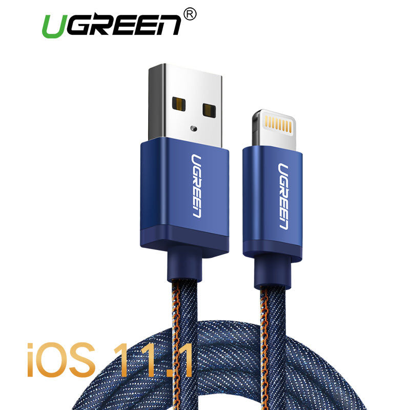 MFi Braided Fast Charging Lightning Cable - Your Goods Central