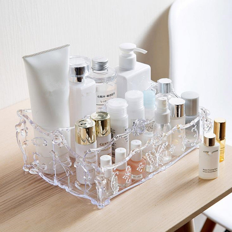 Acrylic Makeup Organizer for Cosmetics Storage /Make Up Boxes for Storage Desk Accessories Organizer - Your Goods Central