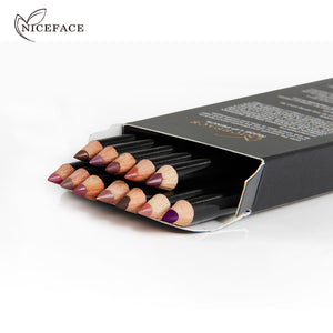 Beauty Professional Long-lasting Lipliner Waterproof Pencil 12 color set - Your Goods Central