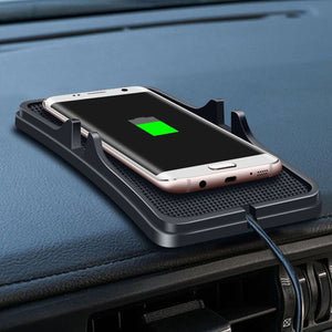 Qi Wireless Car Charger Pad
