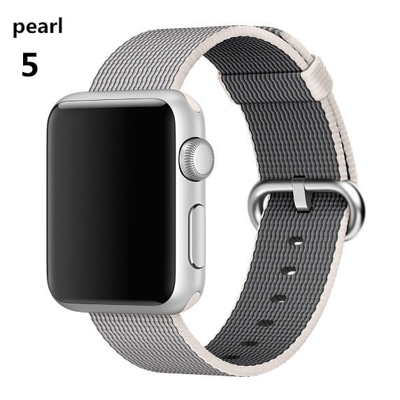 Apple Watch Woven Nylon Straps