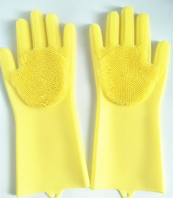 The Magic Cleaning Gloves