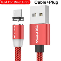 Magnetic Fast Charging Cable | USB-C | Micro USB | Lightning cable