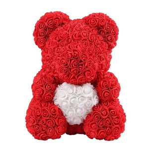 Limited My Heart Red Rose Bear