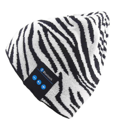 Beanie Hat with Wireless Stereo Headphone