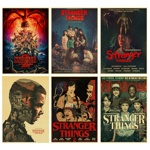Stranger Things Poster Collection