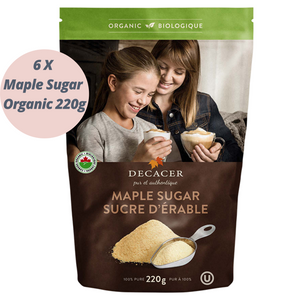 Maple Sugar Organic (6 x 170g)