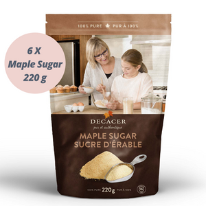 Maple Sugar  (6 x 220 g)