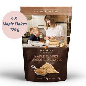 Maple Flakes (6 x 170 g)