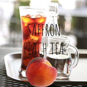 Saffron Peach Tea