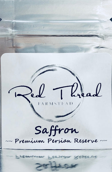 Saffron, 100% Pure, Fresh, Premium Red Threads →  1/3 gram - Red Thread Farmstead