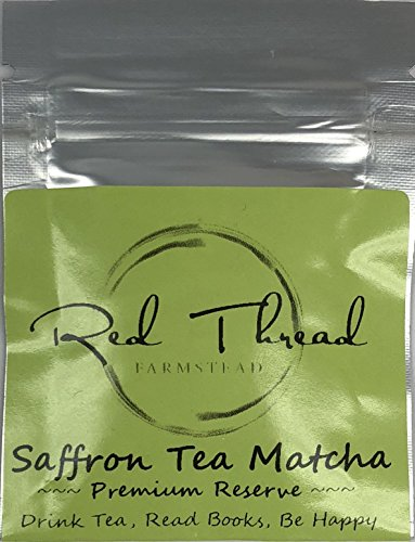 Saffron Tea Matcha → Super Tea →  6 Cup Tea Pouch - Red Thread Farmstead