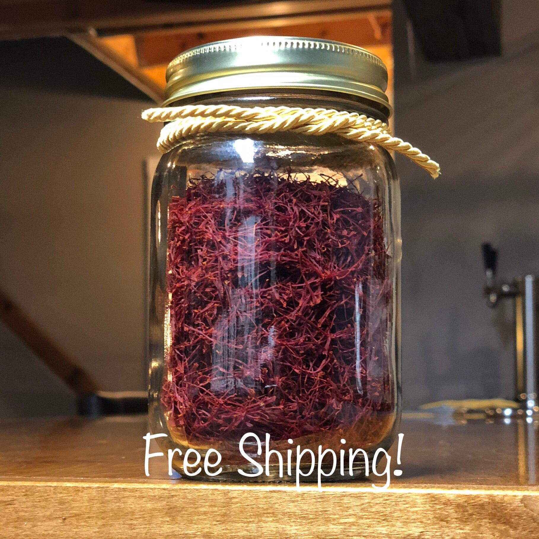 Premium Saffron, 100% Pure Persian All Red Threads - Commercial Chef Edition (28 grams) - Red Thread Farmstead