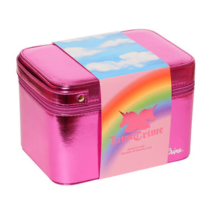 Lime Crime Birthday Makeup Case ไลม์ คราม กระเป๋าเครื่องสำอาง - Limited Edition