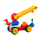 Amazing Educational Crane Made Of Plastic Blocks Toy