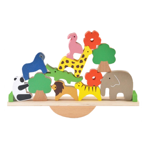 Cute Educational Wooden Animal Toys (12Pcs)