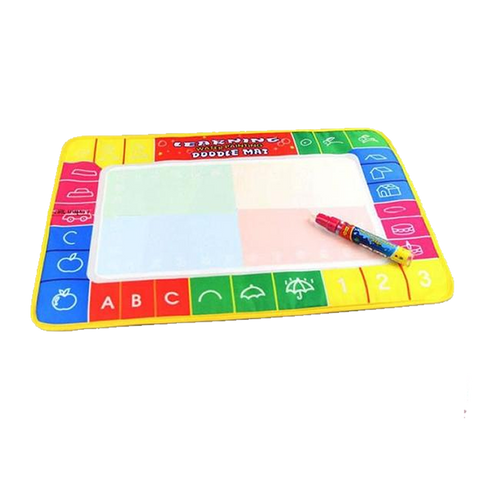 Educational Water Drawing Mat + Magic Pen (29X19Cm) Toys