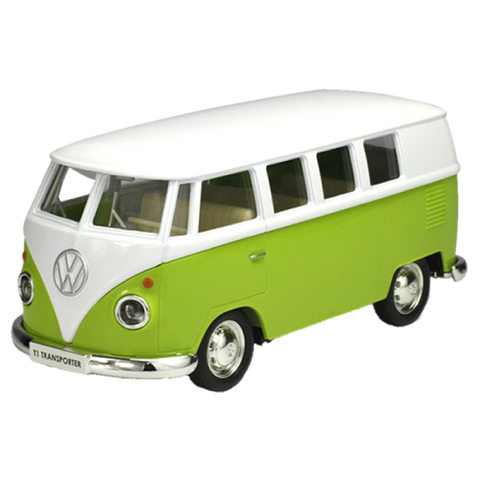 Beautiful Retro Volkswagen Van 1:36 Scale (Green Red Or Yellow) Toys