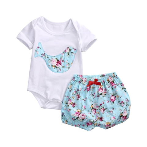 Lovely Set Of Romper And Bloomer (0 To 18 Months) Apparel