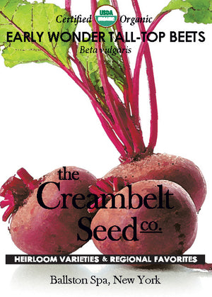 Beets - Red Early Tops Beets Certified Organic