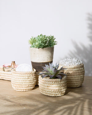 Shorouk Palm Basket Set