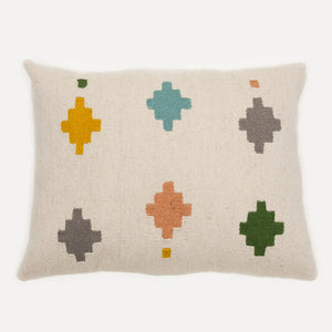 Pastel Tiles Lumbar Pillow