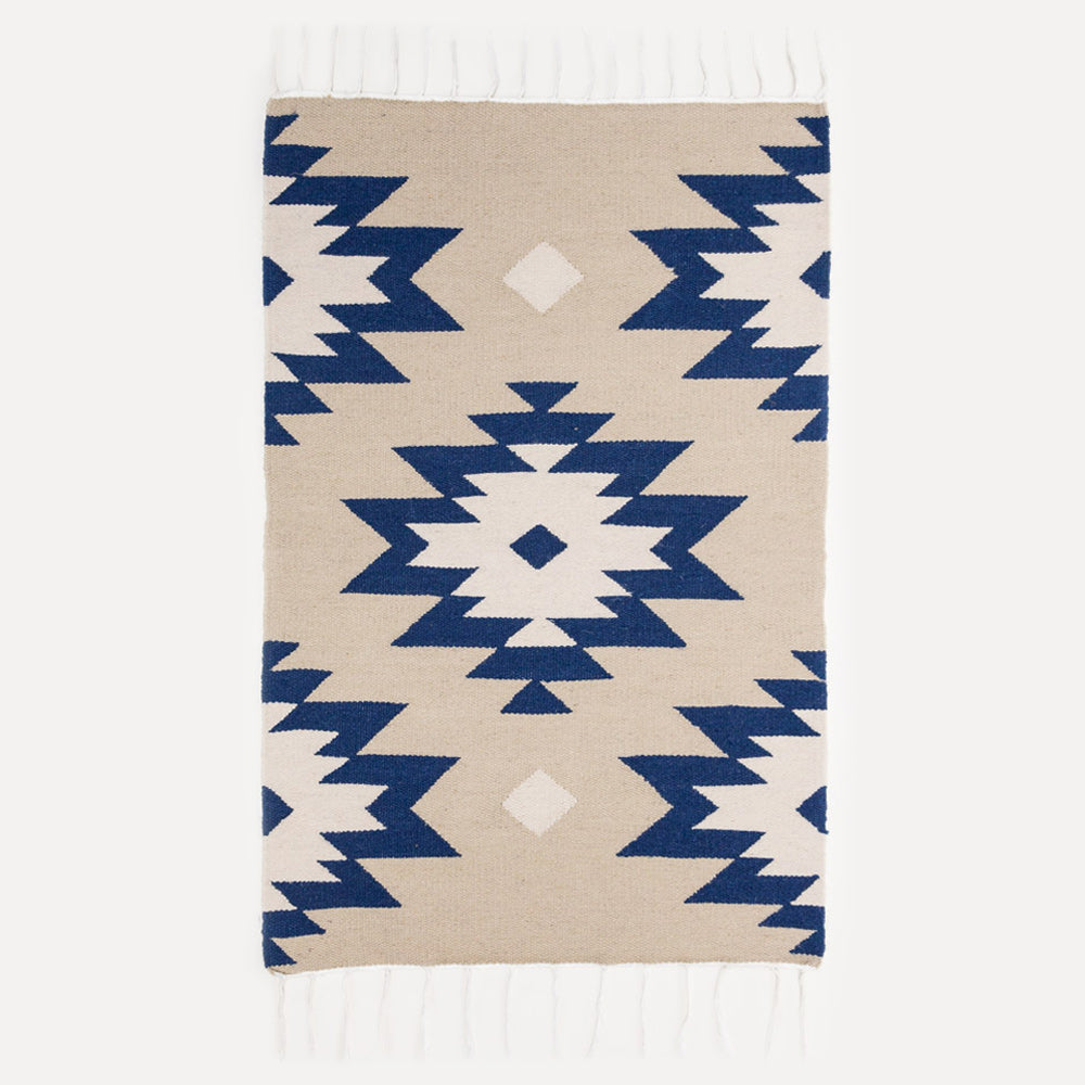 Blue Medallion Rug