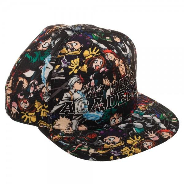 My Hero Academia High Density Print Sublimated Snapback