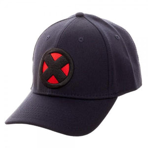 X-Men Logo Navy Flex Cap