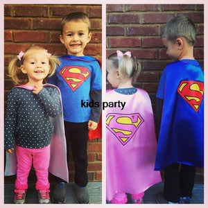 Superhero Kids Cape and Mask