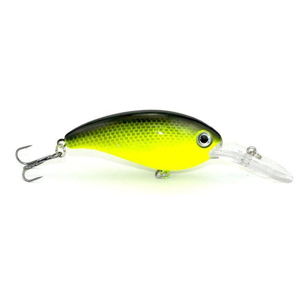 1pcs 14g 10cm Crankbait Fishing Wobblers Hard bait Bass Spinner Fishing Lures 17 Colors Pesca fishing tackle YE-195 - iGsel- E-handels Kungen, Kvalitet, billigt & Snabbt!