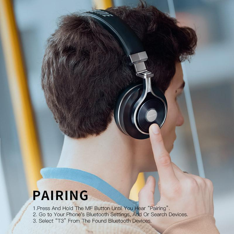 0c8bc5c7f93 Bluedio T3 Wireless bluetooth Headphones/headset with Bluetooth 4.1 Stereo  and microphone for music wireless
