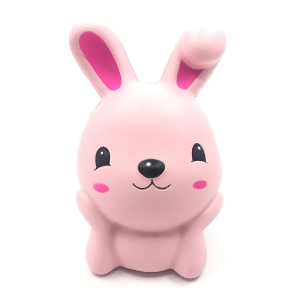 15cm Squishy Pink Cute Rabbit Squeeze Slow Rising Fun Toy Gift Phone Strap Decor 2017 Hot sale