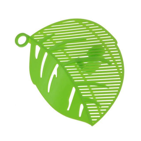 1PC Leaf Shape Durable Clean Rice Wash Sieve Beans Peas Cleaning Gadget Kitchen Clips Tools Practical Plastic Kitchen Sieve Tool