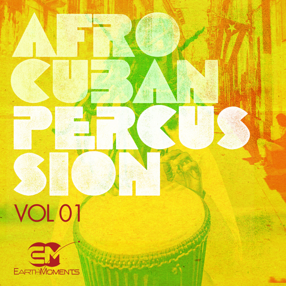 Afro-Cuban Percussion Vol. 01