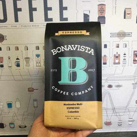 Colombia Monkaaba Multi whole bean coffee