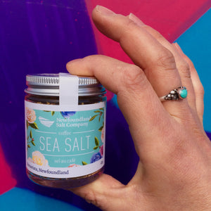 Newfoundland Salt Company Coffee Sea Salt 40 g bottle