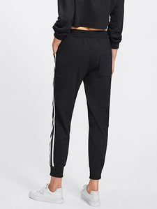 Stripe Tape Side Sweatpants - Jamesen