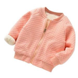 Baby Girls Winter Jackets Warm Faux Fur  Coat - Jamesen