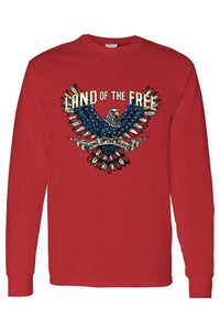 Long Sleeve Shirt Land Of The Free -Men - Jamesen