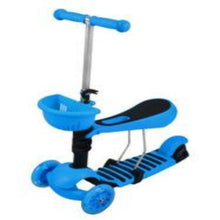 Load image into Gallery viewer, Tricycle Scooter Cityroller/Sitting LED Wheels * BLUE *