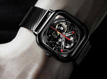 Load image into Gallery viewer, Xiaomi MI CIGA Design Automatic Mechanical Men Watch Black - Jamesen