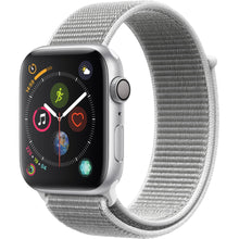 Load image into Gallery viewer, Apple Watch Series 4 Sport 44mm (GPS only) Aluminium Silver Sport Loop Band White - Jamesen