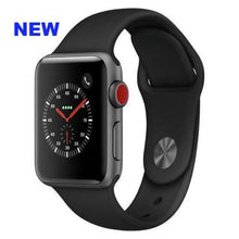 Load image into Gallery viewer, Apple Watch Series 3 Sport 42mm (GPS plus LTE) Aluminium Plastic Sport Band Gray - Jamesen