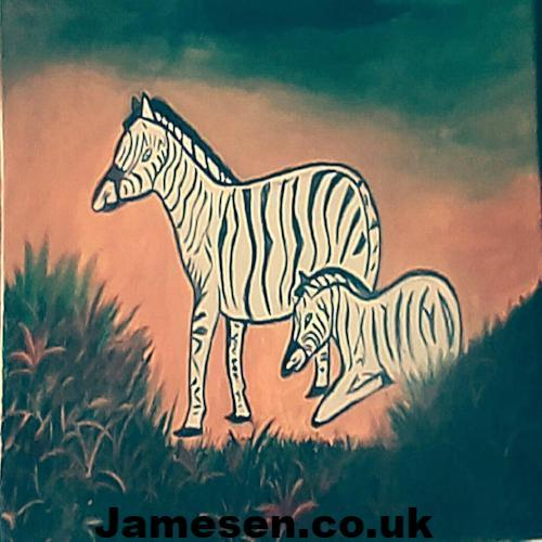 Horse in the Wilderness Wall/home Deco - Jamesen