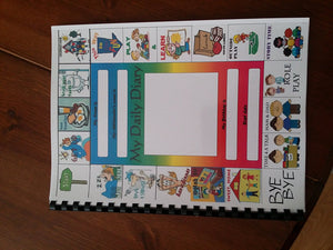 My daily diary for childminders: 3 month EYFS log book.