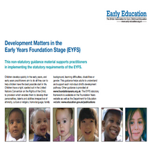 Load image into Gallery viewer, Development Matters in the Early Years Foundation Stage (EYFS)