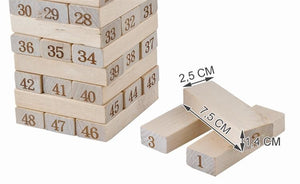 Dice Stacking Wood Game